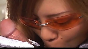 Aya Fujii hot Asian milf in glasses gets..