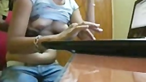 Indian Aunty2 asian cumshots asian..